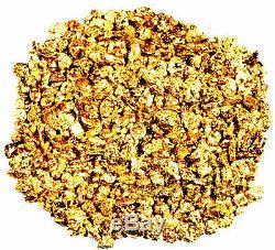 1.000 Grams Alaskan Yukon Bc Natural Pure Gold Nuggets #16 Mesh Free Shipping