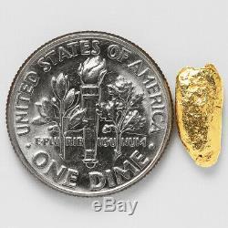 1.0459 Gram Alaska Natural Gold Nugget (#50990) FREE SHIPPING Alaskan Gold