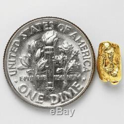 1.1415 Gram Alaska Natural Gold Nugget (#51000) FREE SHIPPING Alaskan Gold