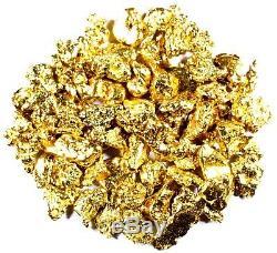 1.550 Grams Alaskan Yukon Bc Natural Pure Gold Nuggets #8 Mesh Free Shipping