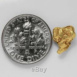 1.5688 Gram Alaska Natural Gold Nugget (#41356) FREE SHIPPING Alaskan Gold