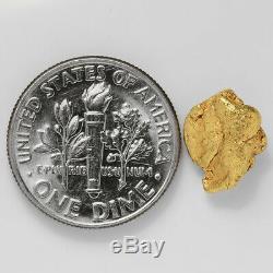 1.8465 Gram Alaska Natural Gold Nugget (#41378) FREE SHIPPING Alaskan Gold