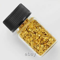 1 Gram Alaska Natural Gold Nuggets With Glass Bottle Alaskan TVs Gold Rush