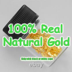 1 Gram Alaska Natural Gold Nuggets With Glass Bottle Alaskan TVs Gold Rush #5
