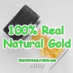 1 Gram Alaska Natural Gold Nuggets with BOTTLE Alaskan TVs Gold Rush (#1gB3)