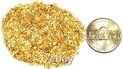 10.000 Grams Alaskan Yukon Bc Natural Pure Gold Nuggets #20 Mesh Fines