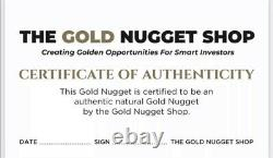 10.32 gram natural gold nugget from Australia