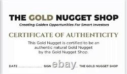 10.7 gram natural gold nugget from Australia
