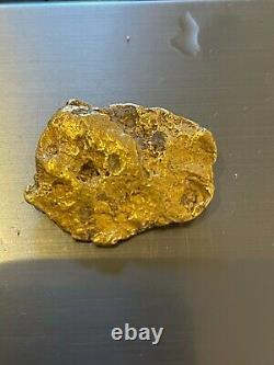 10.84g Australian Gold Nugget Placer Gold High Purity Natural Product STUNNING
