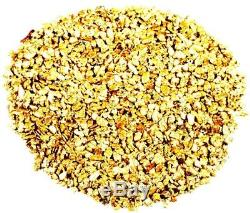 1000 Piece Lot Alaskan Yukon Bc Natural Pure Gold Nuggets Free Shipping (#l250)