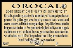#1005 Natural Gold Nugget Australian 4.79 Grams Genuine