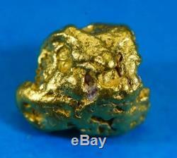 #1012 Australian Natural Gold Nugget 3.15 Grams Genuine
