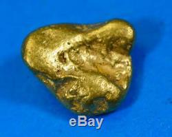 #1028 Australian Natural Gold Nugget 2.11 Grams Genuine