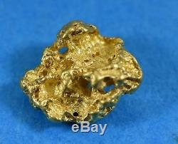 #1047 Australian Natural Gold Nugget 3.26 Grams Genuine