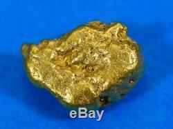 #105 Alaskan BC Natural Gold Nugget 1.95 Grams Genuine