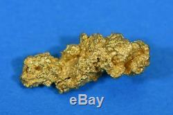 #1063 Australian Natural Gold Nugget 3.00 Grams Genuine