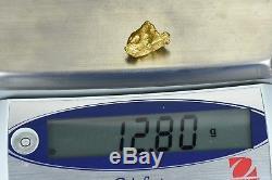 #1091 Large Natural Gold Nugget Australian 12.80 Grams Genuine