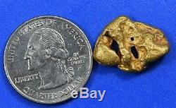 #1097 Large Natural Gold Nugget Australian 8.87 Grams Genuine