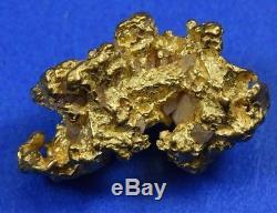 #1101 Large Natural Gold Nugget Australian 7.11 Grams Genuine