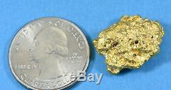 #1123 Large Natural Gold Nugget Australian 14.01 Grams Genuine