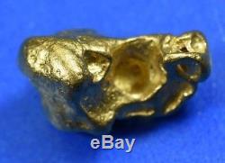 #1134 Large Natural Gold Nugget Australian 9.45 Grams Genuine