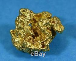 #1143 Large Natural Gold Nugget Australian 14.20 Grams Genuine