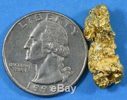 #1159 Large Natural Gold Nugget Australian 7.43 Grams Genuine