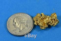 #1164 Large Natural Gold Nugget Australian 8.61 Grams Genuine