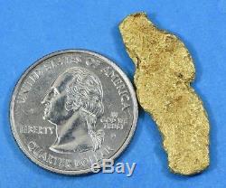 #1171 Large Natural Gold Nugget Australian 8.73 Grams Genuine