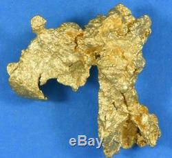 #1180 Large Natural Gold Nugget Australian 18.24 Grams Genuine