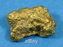 #1185 Australian Natural Gold Nugget 8.34 Grams Genuine