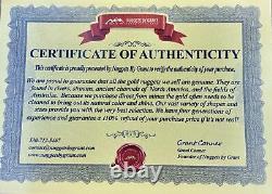 #1199 Natural Gold Nugget Australian 19.23 Grams Genuine