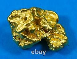 #1200 Natural Gold Nugget Australian 13.35 Grams Genuine