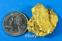 #1201 Large Natural Gold Nugget Australian 32.64 Grams Very Rare