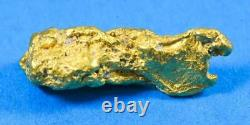 #1210 Large Natural Gold Nugget Australian 24.14 Grams Very Rare