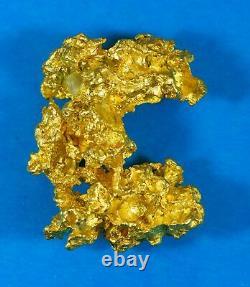#1215 Large Natural Gold Nugget Australian 35.39 Grams Very Rare