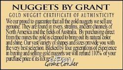 #1231 Large Natural Gold Nugget Australian 29.03 Grams Genuine