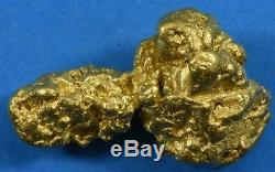#1254 Large Natural Gold Nugget Australian 21.46 Grams Genuine
