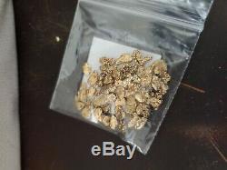 15.55 Grams /. 5005 oz. Alaska Natural Gold Nuggets