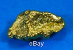 #155 Alaskan BC Natural Gold Nugget 1.56 Grams Genuine