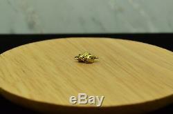 18k-20k Natural Alaska Gold Nugget Pendant 1.1 Grams