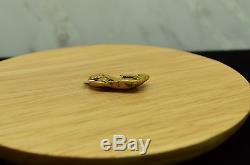 18k-20k Natural Alaska Gold Nugget Pendant 4.6 Grams