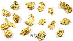 2.000+ Grams Alaskan Yukon Bc Natural Pure Gold Nugget #4 Mesh Hand Picked