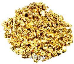 2.000 Grams Alaskan Yukon Bc Natural Pure Gold Nuggets #12 Mesh Free Shipping
