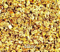 2.000 Grams Alaskan Yukon Bc Natural Pure Gold Nuggets #16 Mesh Free Shipping