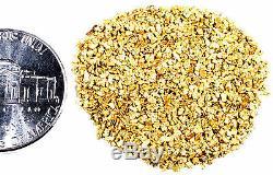 2.000 Grams Alaskan Yukon Bc Natural Pure Gold Nuggets Mesh #30 Small Fines