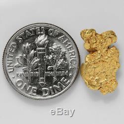 2.1803 Gram Alaska Natural Gold Nugget (#41364) FREE SHIPPING Alaskan Gold