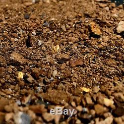 2.4kg / 84.66oz AUSTRALIAN NATURAL GOLD PAYDIRT Guaranteed Gold Pay Dirt