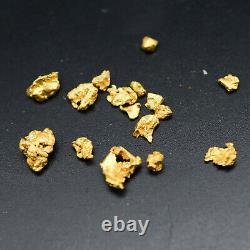 2 gram Gold Nuggets Rare Australian Natural Golden Triangle