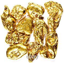 2000 Piece Lot Alaskan Yukon Bc Natural Pure Gold Nuggets Free Shipping (#l200)